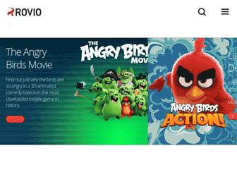 Thumbshot of Rovio.com