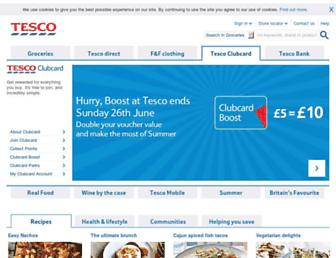 tesco.com screenshot