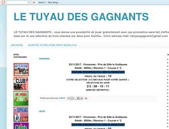 letuyaudesgagnants.blogspot.com screenshot