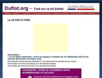 Thumbshot of Duflot.org