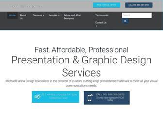 michaelhannadesign.com screenshot