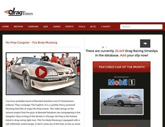 dragtimes.com screenshot