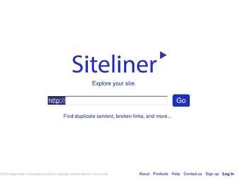 siteliner.com screenshot