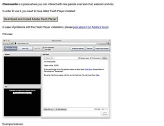 chatroulette.com screenshot