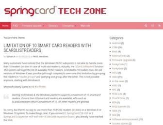 tech.springcard.com screenshot