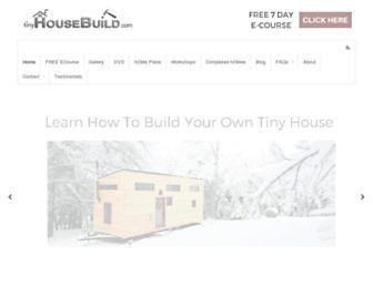 tinyhousebuild.com screenshot