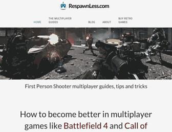 respawnless.com screenshot