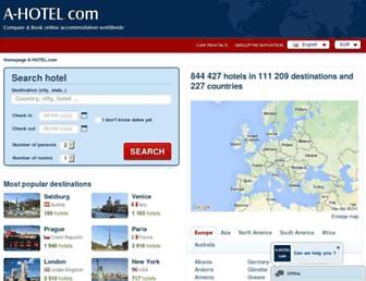 a-hotel.com screenshot