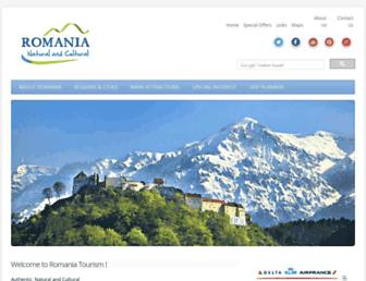 Thumbshot of Romaniatourism.com