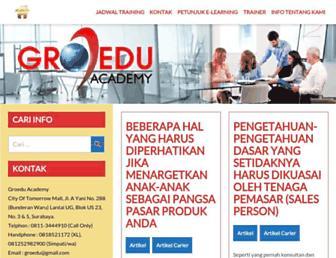trainingpemasaransurabaya.com screenshot