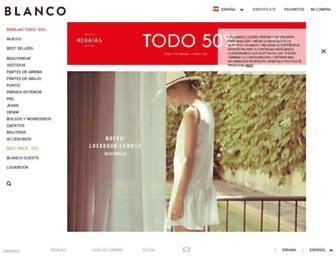 Thumbshot of Blanco.com