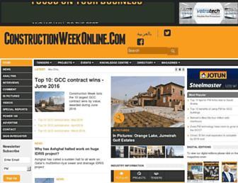 Thumbshot of Constructionweekonline.com
