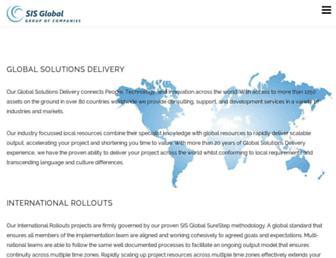 sisglobal.com screenshot