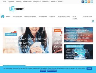 aithority.com screenshot