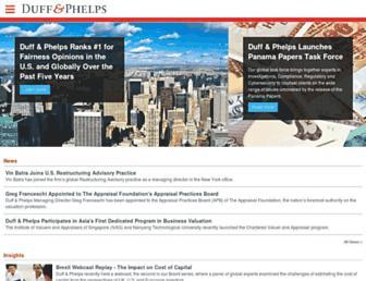 duffandphelps.com screenshot