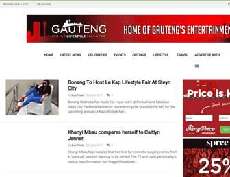 gautenglifestylemag.co.za screenshot