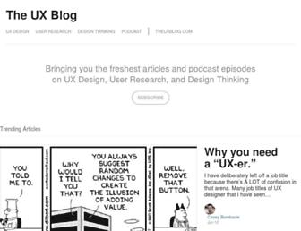 medium.theuxblog.com screenshot