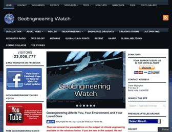 Thumbshot of Geoengineeringwatch.org