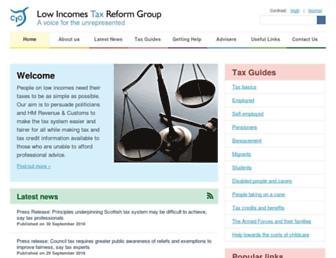 litrg.org.uk screenshot