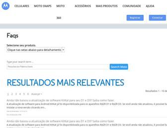 motorola-global-portal-pt.custhelp.com screenshot