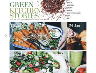 Thumbshot of Greenkitchenstories.com