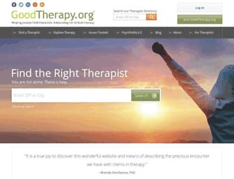Thumbshot of Goodtherapy.org