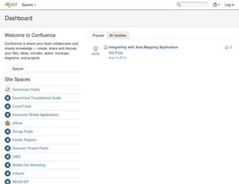 confluence.dimagi.com screenshot