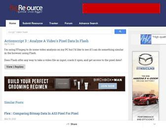 flash.bigresource.com screenshot
