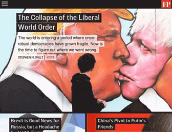 Thumbshot of Foreignpolicy.com