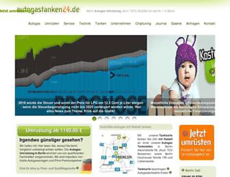 autogastanken24.de screenshot