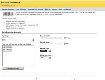 barcodez.net screenshot