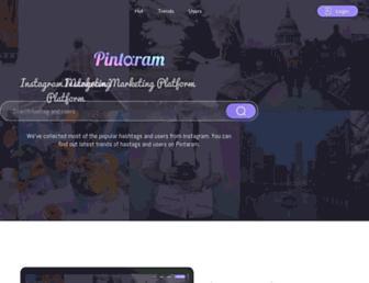 pintaram.com screenshot