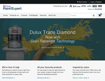 duluxtradepaintexpert.co.uk screenshot