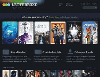 Thumbshot of Letterboxd.com