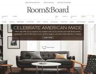 roomandboard.com screenshot