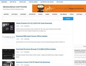 mengunduh-software.blogspot.com screenshot