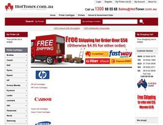 hottoner.com.au screenshot