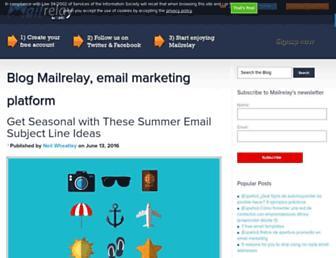 blog.mailrelay.com screenshot