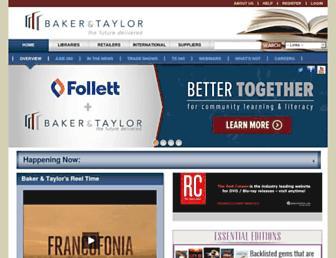 Thumbshot of Baker-taylor.com
