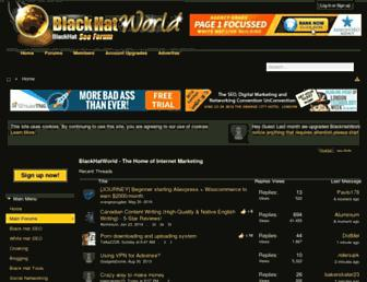 Thumbshot of Blackhatworld.com