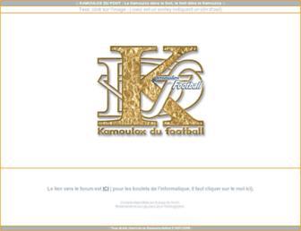 Thumbshot of Kamouloxdufoot.com