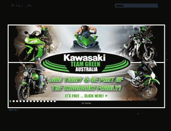 kawasaki.com.au screenshot