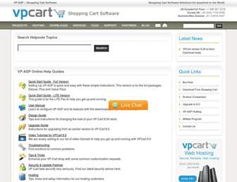 helpnotes.vpasp.com screenshot