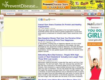 Thumbshot of Preventdisease.com
