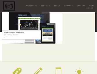 4x3.net screenshot