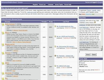 forums.bannister.org screenshot