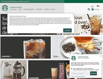 Thumbshot of Starbucksstore.co.uk