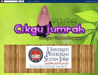 cikgujumrah.blogspot.com screenshot
