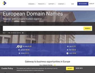 Thumbshot of Europeregistry.com