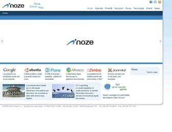 noze.it screenshot